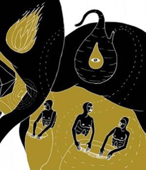 """In occasione del MI AMI 2011, abbiamo chiesto a Davide Coppo, vincitore del MI PENSI 2010, di farci un regalo. E lui ha scritto questo racconto minimalista, una storia a due che scorre lungo gli anni, mentre si diventa grandi e si stringono mani. Illustrazione di Andreco e """"Wes Anderson"""" dei Cani di sottofondo."""