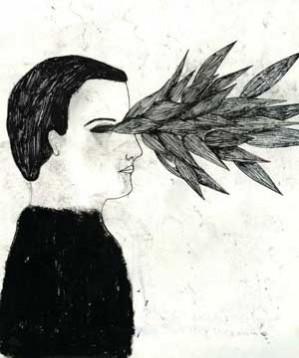 """Il punto di vista è quello delle rotaie che bruciano verso Parigi. C'è il nero ferroso, il piombo, i graffi. Ma anche il bianco accecante - e un grido intagliato nel letto. """"Cenere non polvere"""" è il racconto magmatico di Cristina Cipriani affrescato dai disegni cinerei di Daniela Tieni e dall'infuocata """"Lezioni di poesia"""" di Giorgio Canali."""