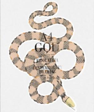 """A4GOD è una scatola serpentina che contiene 105 idee di divinità illustrate su fogli A4 da 105 artisti e illustratori italiani o stranieri che vivono in Italia. Il progetto ideato e curato da studio POMO getta """"una luce – che ci voleva – sul panorama della produzione contemporanea di immagine in Italia""""."""
