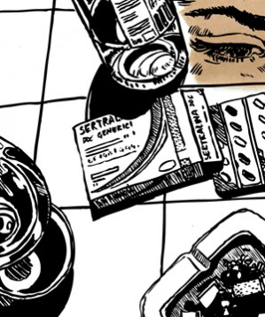 """La puntata di Piovono Pietre apparsa sul Rockit Mag 2012: Costanza Bongiorni racconta """"La cura"""", una languida alba d'inizio estate disegnata da Chiara Fazi, reporter live illustratrice del MI FAI 2012. La colonna sonora è """"Lenta conquista"""" dei Cosmetic."""