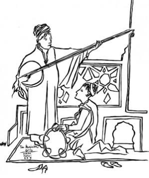 Il primo di tre racconti che anticipano i reading di BABEL, festival di editoria, musica e persone indipendenti: ALTAI  di Wu Ming, con le illustrazioni di Gianluca Costantini e la musica dei Contradamerla.