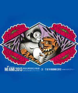Chiara Dattola, Matteo Fenoglio e LRNZ: gli artisti che disegneranno dal vivo sabato 8 giugno al MI AMI 2013.